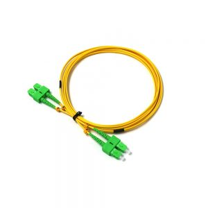 Fiber Optic indoor Jumper SCAPC- SCAPC 9-125 LSZH G657A2 Optic patch cord