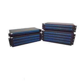 FTTH equipment 19inch 96 port fiber optic patch panel-1